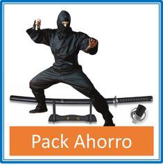 Pack Ninja Shinobi + Katana Toyotomi Hideyoshi - €84.00   https://soloartesmarciales.com    #ArtesMarciales #Taekwondo #Karate #Judo #Hapkido #jiujitsu #BJJ #Boxeo #Aikido #Sambo #MMA #Ninjutsu #Protec #Adidas #Daedo #Mizuno #Rudeboys #KrAvMaga #Venum