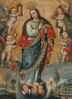 Imagen  pintura  peruana
