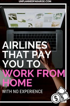 Want to work for an airline and enjoy those sweet travel benefits, but you don't necessarily want to work at feet? Find out which 6 airlines pay you to work from home and discover how you can travel the world for free! Airline Jobs, Travel Careers, Travel The World For Free, Major Airlines, Work Travel, Flight Attendant, Study Abroad, Money Saving Tips, Cleaning