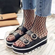 """💯 💯 💯 $26.50,  Women's Eyelet Med(3cm-5cm) Wedges Slides Slippers Use code """"LADYSTO"""" to get 15% OFF & one FREE chic socks. from @ladystoofficial.... 💯 💯 💯 Nike Top Red Dresses Stilettos Ariat Boots Jordans Under Armour Born Hot Winter For Men Wonder Moccasin Thongs Professional Ab Workouts Leather Libraries Workout Clothes Smoking Cross Necklaces Keen Shoes Reebok Green Pattern Motorcycle Party Dresses Tummy To Get Brian Atwood Long Sleeve Classic 💯 💯 💯 @ladystoofficial #ladysto Cheap Heels, Cheap Sandals, Cheap Boots, One Sleeve Dress, Long Sleeve, Navy Wedding Shoes, Motorcycle Party, Trendy Sandals, Beach Bridesmaid Dresses"""