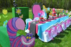 Alice In Wonderland Mad Tea Party Birthday Party Ideas | Photo 5 of 8 | Catch My Party