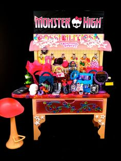 Monster High Custom Mall Kiosk Display Prop With by GhoulsRule