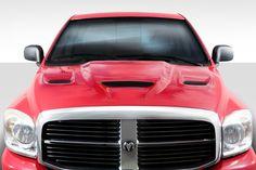 Dodge Ram Hellcat Look Duraflex Body Kit- Hood! Dodge Ram Hellcat, Dodge Ram 1500 Hemi, Dodge Ram 1500 Accessories, Ram Accessories, Ram Trucks, Dodge Trucks, Pickup Trucks, Dodge Dakota, 1 Piece