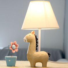 Quente do presente para crianças de tecido abajur para quarto sala lâmpada