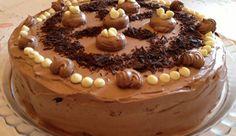 Τούρτα δίχρωμη , παραδοσιακή , ελαφριά, η αλλιώς τούρτα του «παλιού» ζαχαροπλάστη από  το «Taste of life by  Betty»