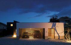 Garage House, Garage Doors, Facade, House Design, Park, Architecture, Building, Outdoor Decor, Modern Houses