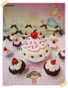 Kit Festa Cupcake