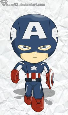 Avengers team in chibi version - Captain America, Ironman, Thor and Hulk. We are accepting artwork commission, just send me a message if interested. ^^ Avengers (C) Marvel Comics Artwork (C) Exoro ...