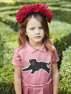 ebad5d6046b50 A look from the Gucci Children s Spring Summer 2017 collection. Gucci Kids