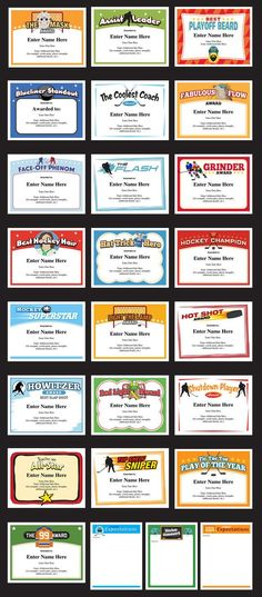 Certificate of Reward or Merit Customizable Novelty Note with FREE SLEEVE