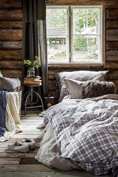 Новости декор home bedroom, home и cabin homes. Cabin Homes, Log Homes, Cozy Bedroom, Bedroom Decor, Bedroom Ideas, Master Bedroom, Plaid Bedroom, Cabin Bedrooms, Wooden Bedroom