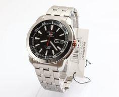 Seiko – Reloj de pulsera hombre, acero inoxidable, color plateado   Your #1 Source for Watches and Accessories