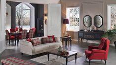 En Konforlu İstikbal Oturma Odası Koltuk Takımları Sofa Set Designs, Best Sofa, Oversized Mirror, Living Room Decor, Your Style, Furniture Design, Layout, Couch, Inspiration