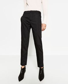Image 2 of MID-RISE SKINNY TROUSERS from Zara