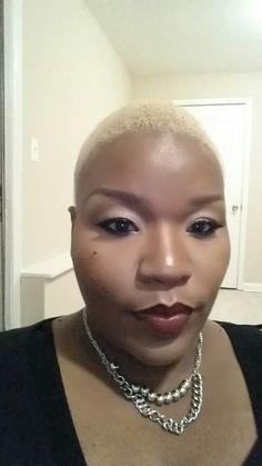 Blonde twa natural hair