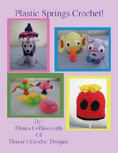 Plastic Springs patterns Donna's Crochet Designs Ebook