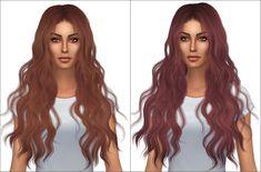 Kenzar Sims: Newsea`s Wild Soul hair retextured  - Sims 4 Hairs - http://sims4hairs.com/kenzar-sims-newseas-wild-soul-hair-retextured/