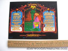 The Who Grateful Dead Fillmore West Concert by SherwoodsTreasures