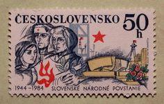 *40yr ANN - Slovak National Uprising of 1944* RED CROSS Stamp