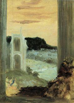 Edgar Degas - Landscape study from Veronese