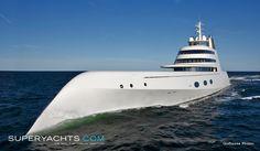 Luxury Motor Yacht A by Blohm + Voss Shipyards