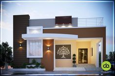 House Front Wall Design, House Balcony Design, Single Floor House Design, Modern Small House Design, House Outside Design, Modern Exterior House Designs, Latest House Designs, Kerala House Design, Bungalow House Design