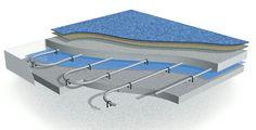 teplovodní podlahové topení