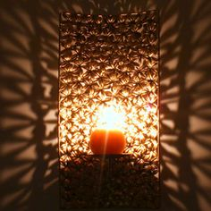 Flower Wall Grill T-light Holder Rs 1499/- http://www.tajonline.com/gifts-to-india/gifts-HVI09.html?aff=pint2014/
