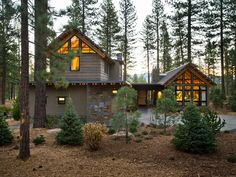 Architect David Bourke designed HGTV Dream Home 2014 in a new mountain style, using materials common in mountain homes while also introducing modern and industrial elements.    http://www.hgtv.com/dream-home/front-yard-pictures-from-hgtv-dream-home-2014/pictures/index.html?soc=pindhm