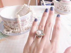 pearl, nails and tea
