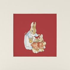 Beatrix Potter's Basket for Berries (Mounted Print) £12