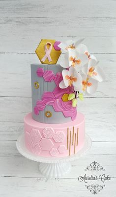 World Cancer Day Sugarflowers and Cakes in Bloom - Nothing is impossible by Aurelia's Cake