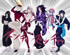 Anime Demon, Anime Manga, Anime Guys, Anime Art, Slayer Meme, Demon Slayer, Haikyuu Fanart, Haikyuu Anime, Gorillaz