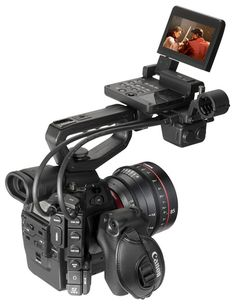 The EOS C300 camera has been designed to meet the demanding needs of cinema industry professionals, providing a modular, portable and eminently adaptable system of cameras, lenses and accessories built for moviemaking in the 21st century.