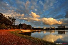 Bedok Reservoir , Singapore