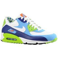 Nike Air Max 90 - Men\u0026#39;s - Sport Inspired - Shoes - White/White/University Blue/Deep Royal