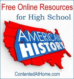 Don't miss this list of the very best FREE online American history resources for high school! High School American History, Teaching American History, Teaching History, Digital History, Importance Of Time Management, Free Teaching Resources, Homeschool High School, Education, Piano Lessons