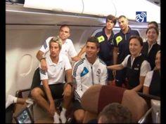 Video Así fue el viaje del Real Madrid a Los Ángeles