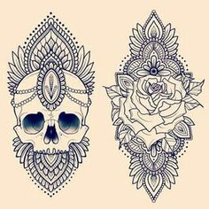 I like the skull for myself