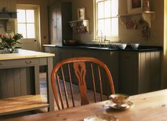 Modern Country Style: Country Kitchen Rule Three: Open Shelving Click through for details. Kitchen Rules, Real Kitchen, Country Kitchen, Country Living, Kitchen Ideas, Modern Country Style, English Country Style, English Garden Design, Victorian Kitchen