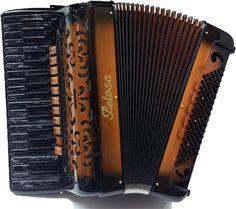 Artista Black Pearl accordion - the Petosa Accordion Museum, Seattle