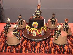 Fire Department Promotion cake | Flickr - Photo Sharing!