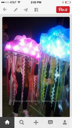 How to make a glow in the dark jellyfish google search school easy homemade jellyfish costumes i like the hangy downs around the edge of the umbrella solutioingenieria Choice Image