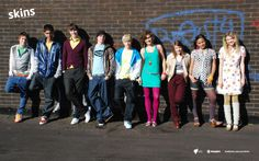 My version of the peanut gang all grown up, is the UK version of Skins