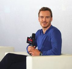Cool Movie actors 2017: Michael Fassbender at a AC Q & A in Shanghai 22/2/2017.... Michael Fassbender: ACTING GOD! Check more at http://kinoman.top/pin/10940/