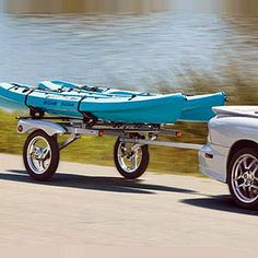 Yakima Rack and Roll Trailer with 78 Bars 8008107 for Kayaks, Canoes, Bikes