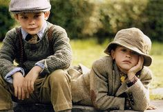 I'm not going to lie, if we have a son, I will dress him like he is a 19th century London paperboy until I can no longer force it.