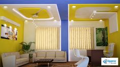 Ceilings that perfectly complement the element of luxury! To know more: www.gyproc.in/