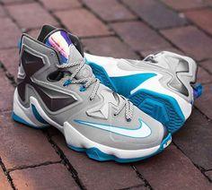 40358cee399b0 Release Date  Nike LeBron 13  Blue Lagoon