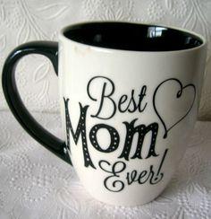 Best Mom Ever Coffee mug  Large Mug 4.5 inches tall #Cypress